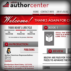 Xulon Press Author Center Website & Logo