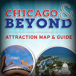 Visit Chicagoland Attraction Map & Guide 2017