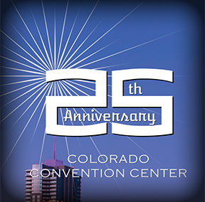 Colorado Convention Center Anniversary Logo