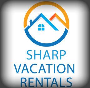 Sharp Vacation Rentals Logo