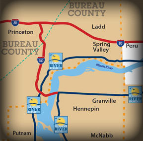 Heritage Corridor CVB – Travel Maps